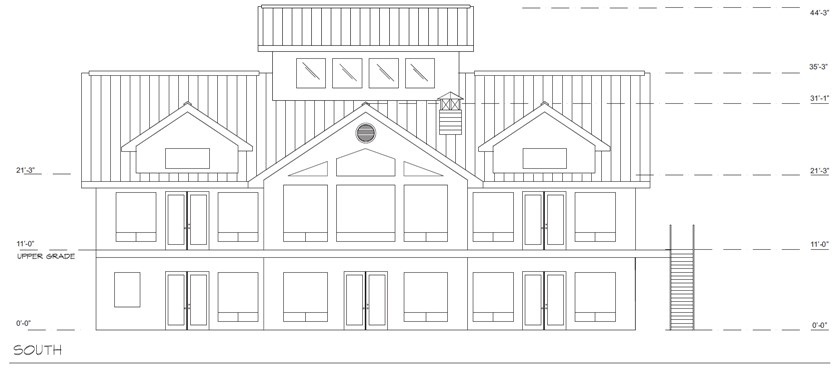 Green Air Retreat National IDEA Home South Elevation